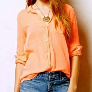 Antro Holding Horses women XS neon orange blouse